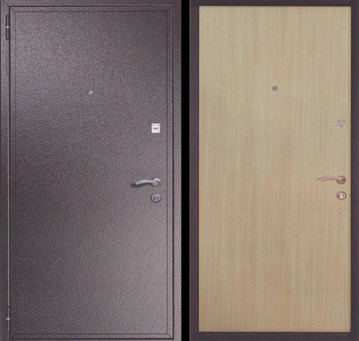 Входная металлическая дверь порошок + ламинат СП031