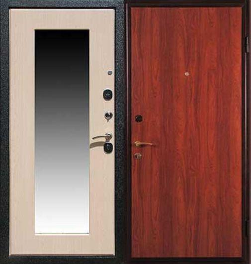 Входная металлическая дверь ламинат + МДФ (ПВХ) СП058